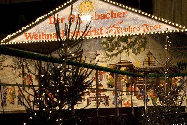 Offenbach Weihnachtsmarkt.Treffpunkt Offenbach